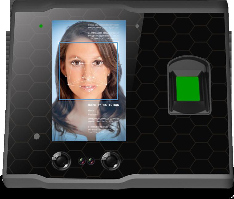 Biometrický terminál - rozpoznání obličeje