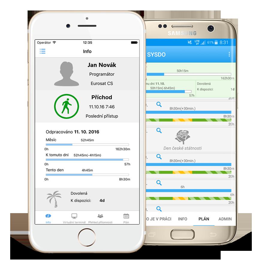 Mobilní aplikace SYSDO