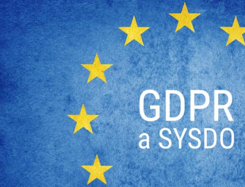 SYSDO – jsme GDPR ready!